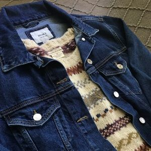 NWT Forever 21 Oversized Denim Jacket
